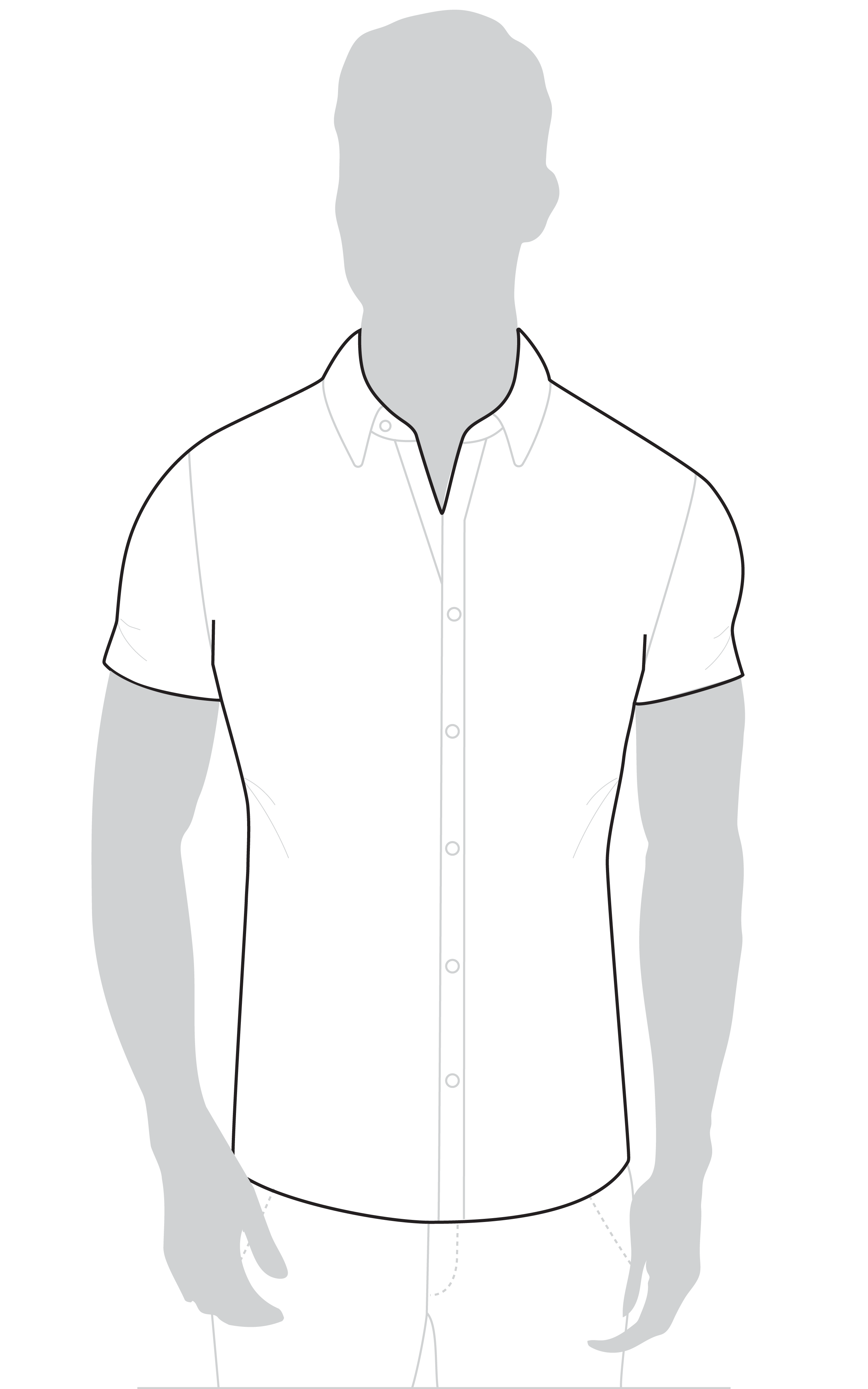 Short Sleeve Muscle Fit Shirts