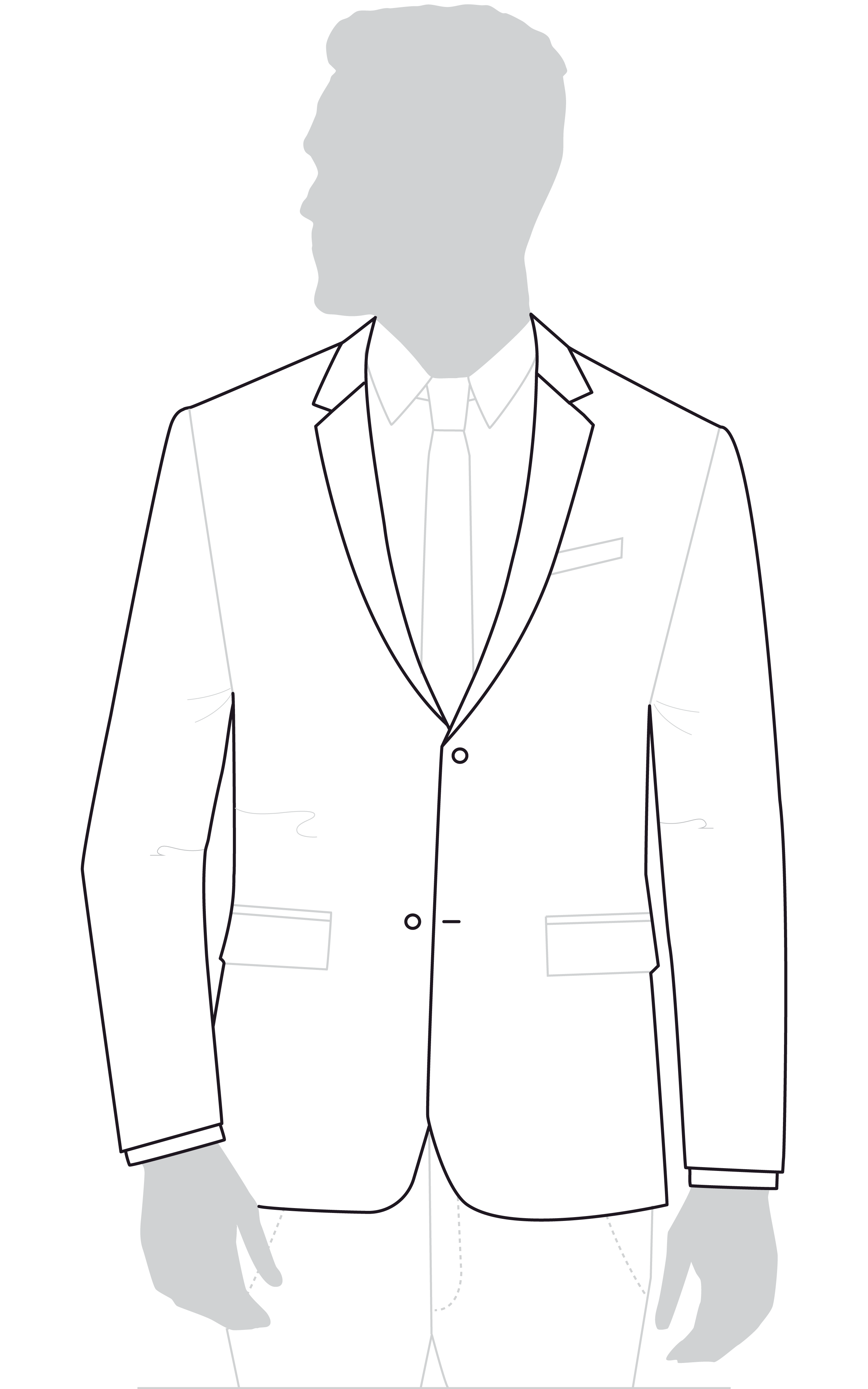 Regular Suit Jackets